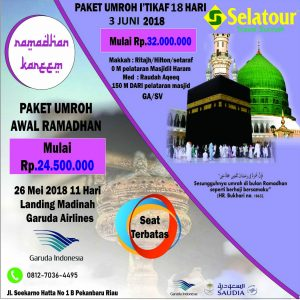 Umroh Ramadhan 2018 Selatour