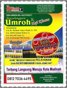Umrah Ramadhan 1439 Ar Risalah Travel Pekanbaru