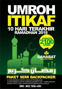 Umroh Itikaf Ramadhan 1439 Sabahat Umroh Riau
