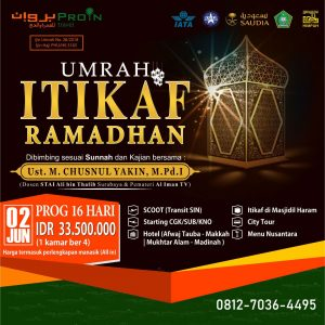 Umroh Itikaf Ramadhan 2018 PROIN Travel