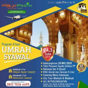 umroh Syawal 2020 - Proin Travel