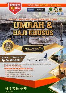 Umroh 2019 Ust Hamzah Abbas dan Ust Ali Subana Proin Travel