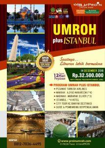 Umroh Plus Istanbul 2018 Proin Travel