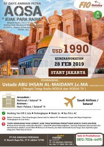 Umroh February 2019-Ust-Abu Ihsanal Maidany Fio-Holiday