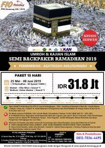 Umroh Itikaf Ramadhan 2019 - Fio Holiday
