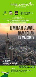Umroh Awal Ramadhan 2019 - Proin Umrah Medan