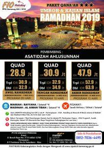Umroh Qonaah Ramadhan 2019 - Fio Holiday