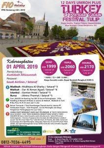 Umroh Plus Turky 1 April 2019 - Fio Holiday