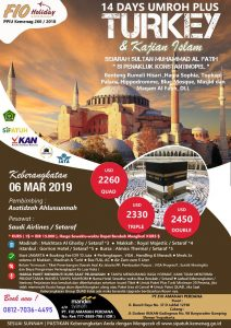 Umroh Turky 6 Maret 2019 - Fio Holiday