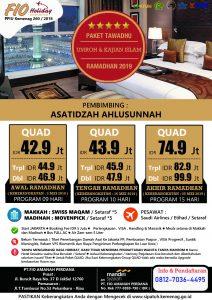 Umroh Paket Tawadhu Ramadhan 2019 - Fio Holiday
