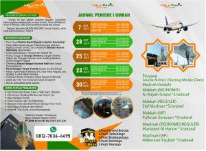 umroh akhir 2019 - Proin Travel via Medan