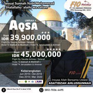 umroh plus aqsa 2019-2020 Fio Holiday