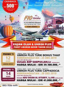 Umroh Plus Turki Desember 2019