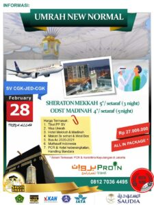 Umroh Februari 2021 Proin Travel Jakarta