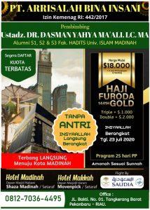 haji furoda 2020 - ArRisalah Travel