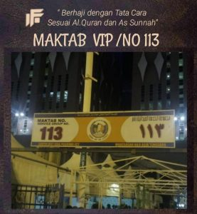 Maktab VIP Haji Visa Furoda