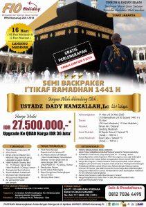 umroh ramadhan 2020 - FIO Holiday CGK