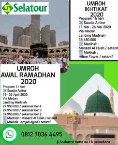 umroh Ramadhan 2020 - Selatour