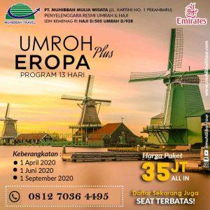 Umrah Plus Eropa - Muhibbah Tour