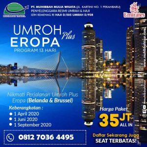 Umroh Plus Eropa - Muhibbah Travel