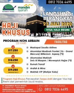 haji plus 2020 - muhibbah travel