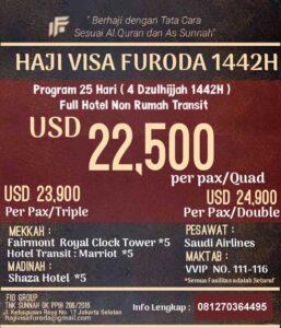 Haji Furoda 2021 - Fio Holiday