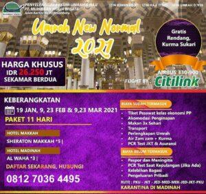 paket umroh muhibbah travel 2021